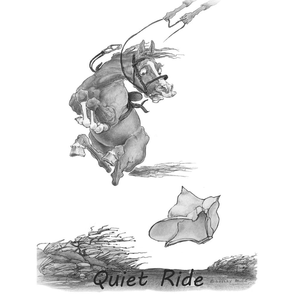Mnn cheval à peur